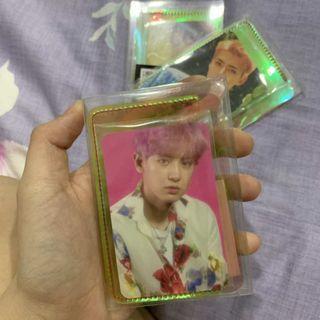 CHANYEOL card wallet+photo card kokobop