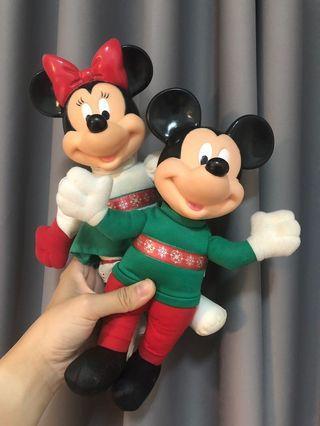 麥當勞老物玩具收藏 迪士尼 米奇米妮 跳跳虎 布瑞托