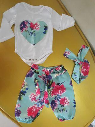 Set baju baby girl