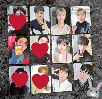 [ WTS / WTT ] MONSTA X OFFICIAL PHOTOCARDS