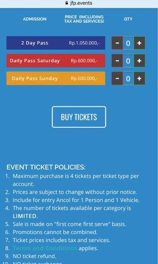 Hodgepodge tickets