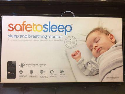 嬰兒呼吸監控床墊