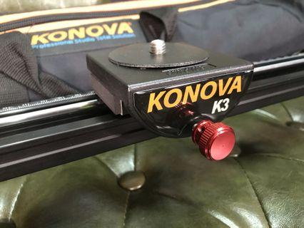 Konova K3 video camera slider 60cm