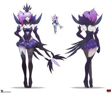 League of Legends Elementalist Lux - Dark #MakeSpaceForLove