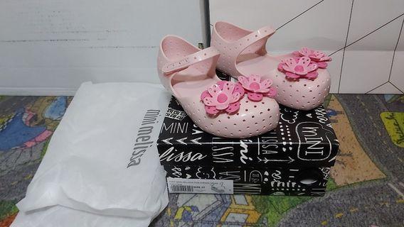Mini Melissa Furadinha XII BB Size 27 Original Sepatu Sendal Anak bukan nike, adidas, vans