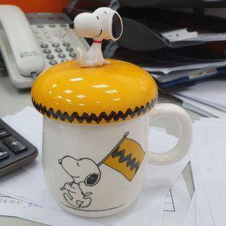 Snoopy 康是美集點絕版馬克杯 含蓋子