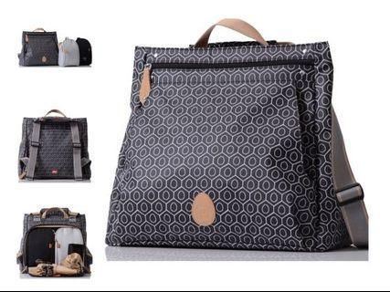 Diaper Bag Pacapod Lewis - Black