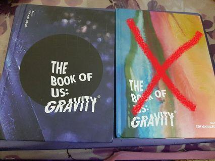 [WTS DAY6] I wanna sell my EXTRA DAY6 Gravity Album 🙏