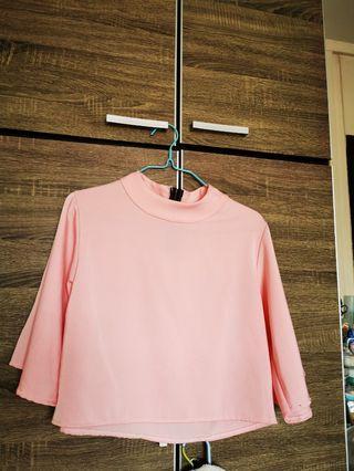 Long Sleeve Top in Pink