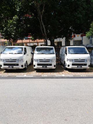 Toyota hiace cheap last 3
