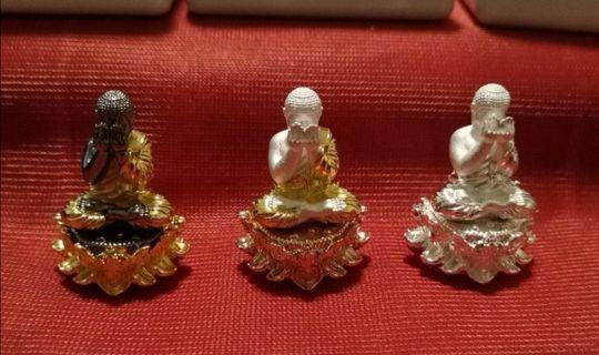 Phra pidtha Set (3 pcs) Lp liap Wat pho koy Be 2561