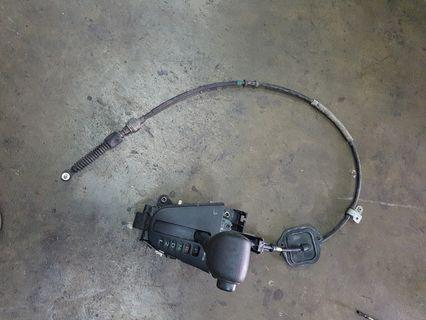 Toyota Vios 2005yr auto gear hands with cable