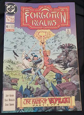 forgotten realms #1 dc comics comic comicbook tsr d&d