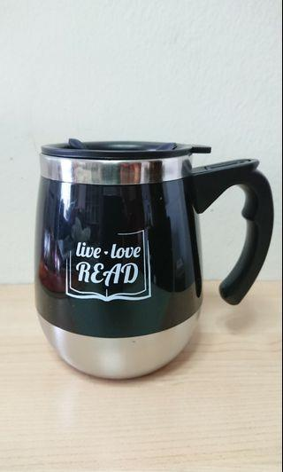 Limited Edition Stainless Steel Mug (BLACK)