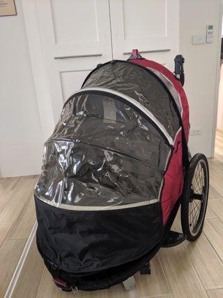 嬰兒推車 單車拖車