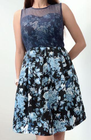 Original Paperdolls Black Label Floral Dress