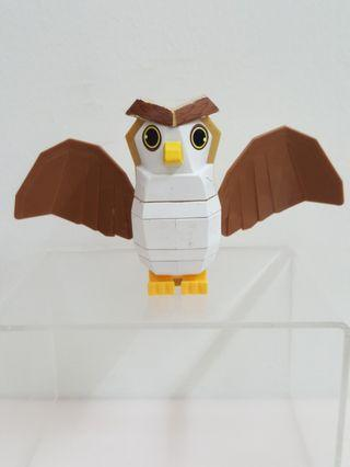 Building blocks owl mcdonlads