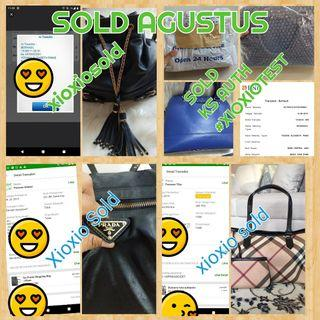 Payment Thank you Agustus