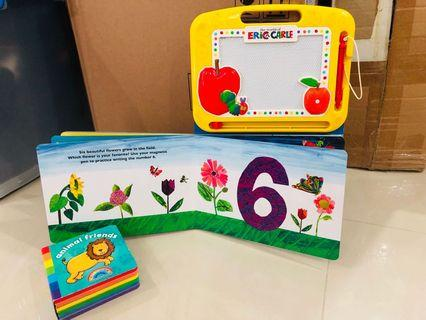 🚚 Learn to Count writing and rainbow book