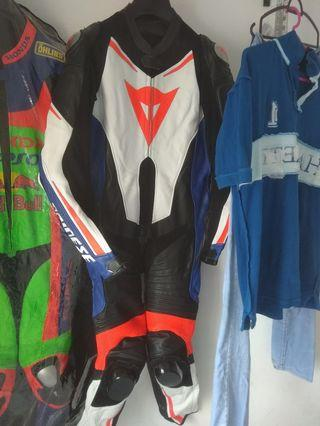 MotoGP Motorcycle Motorbike Leather Racing Suit