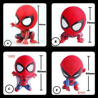 🚚 Marvel's Spiderman Bobble Head with Magnet