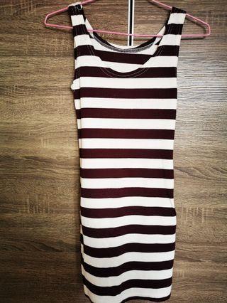 Striped Singlet Dress