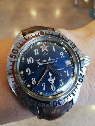 Vostok Military Amfibian Original Watch