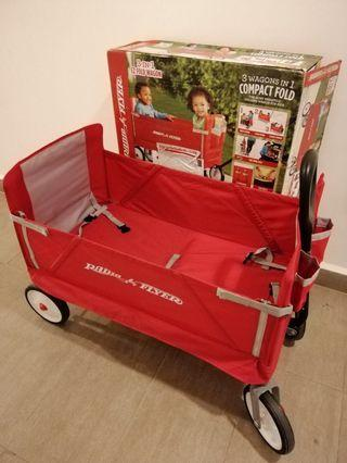Radio flyer fodable wagon