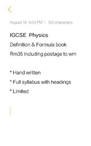 Cambridge Igcse physics
