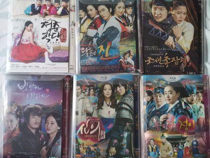 Korean drama dvd Dr jin, He Joseon gunman, The Goddess of fire jung yi, The great Doctor, shine or go crazy