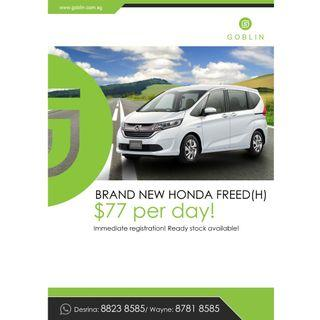 Honda Freed & Honda Shuttle Hybrid