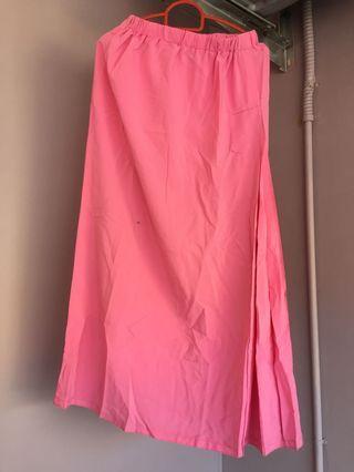 Koshibo pink skirt
