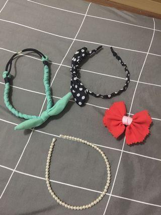 4 Hairband & 2 Ring