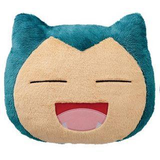 [INSTOCKS] TOREBA Pokemon Sun & Moon - Big Snorlax Face Cushion A