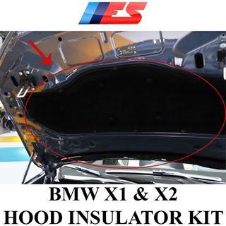BMW X1 & X2 Hood Insulator Set
