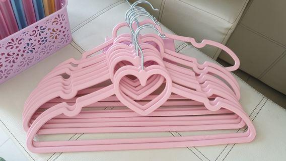 Heart Shape hanger Set for 10pcs