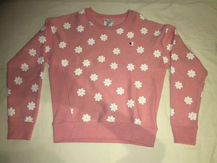 BNWOT Champion limited edition daisy sweatshirt
