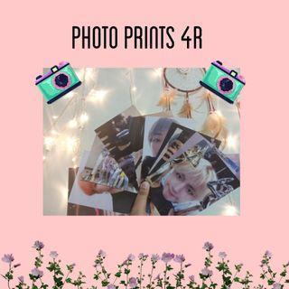 BTS PHOTO PRINTS 4R