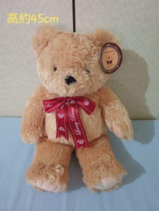 熊娃娃 絨毛玩偶 45cm