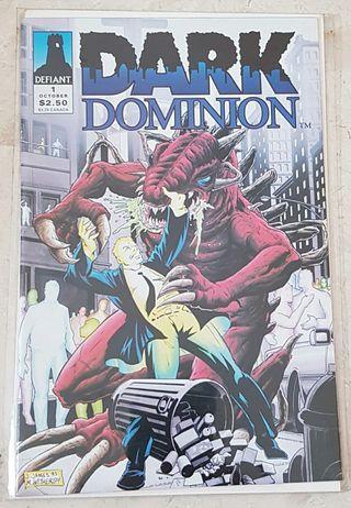 dark dominion #1 defiant comics comic comicbook