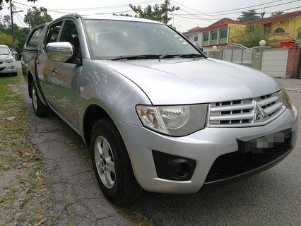 Mitshubishi Triton Lite 2.5(MT) 2013_Tiptop_Blacklist Can Loan_Downpayment 8k