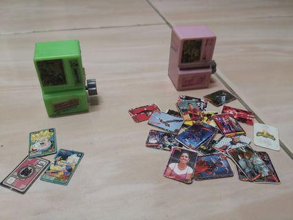 Mini machine card vintage