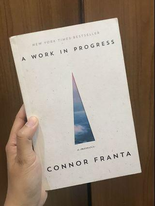 Conor Franta - A Work in Progress (Like New!)