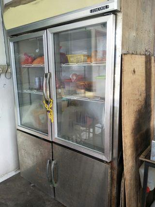 Commercial refrigerator/ peti sejuk commercial