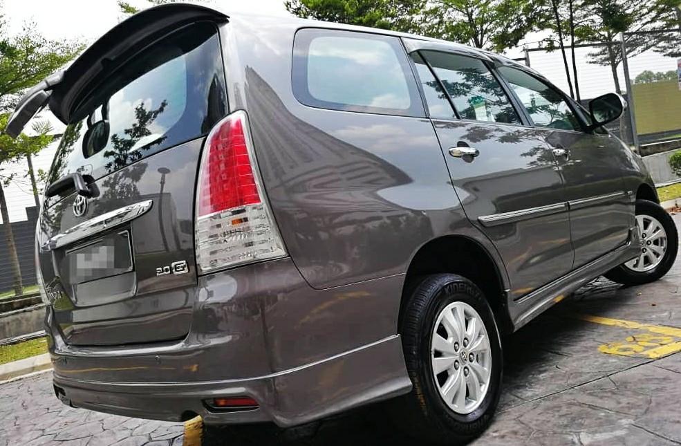 2009 Toyota INNOVA 2.0 G SPEC (A) DP 8990 LOAN KEDAI KERETA