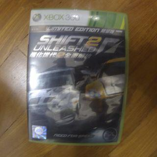 need for speed shift 2 unleashed (xbox 360)