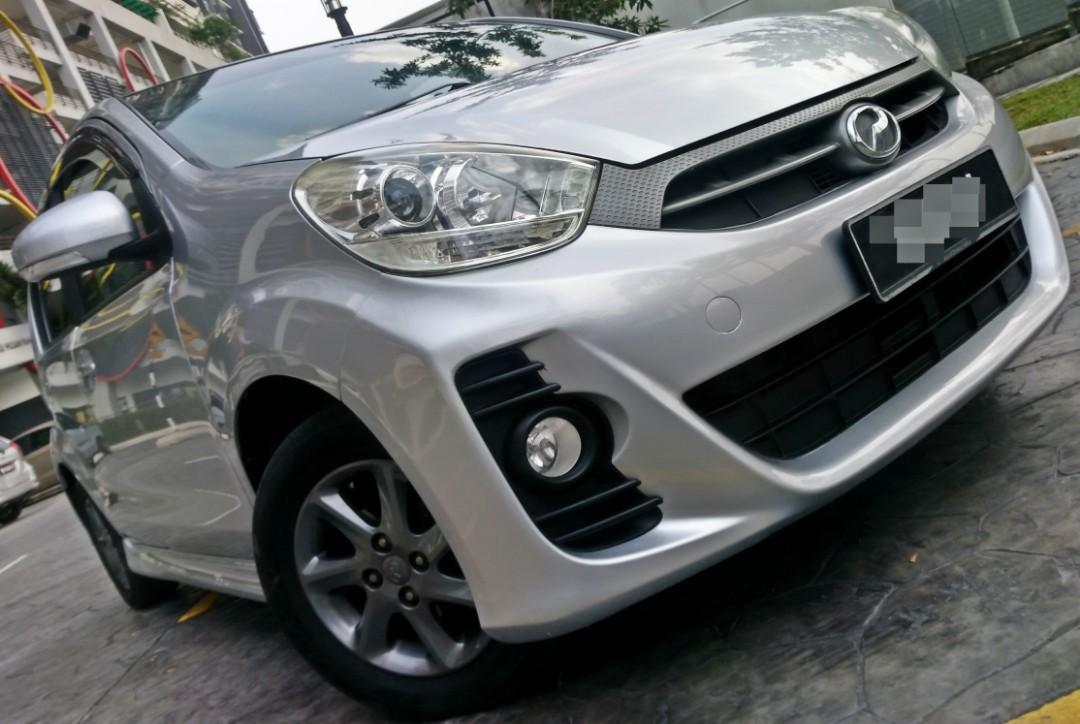 2014 Perodua MYVI 1.5 S.E (A) DP 4990 LOAN KEDAI KERETA