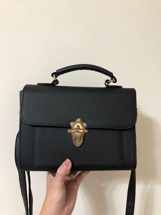 韓版磨砂斜背包 手提包
