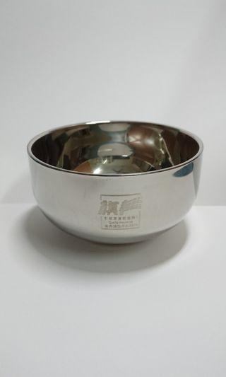 Double Layer Stainless Steel Bowls Set of 4