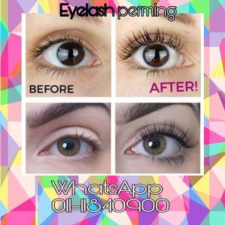Eyelash perming only RM 30